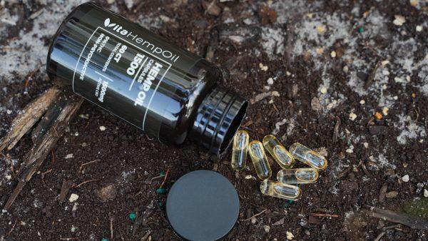 CBD Capsules 60ct THC FREE 1500mg